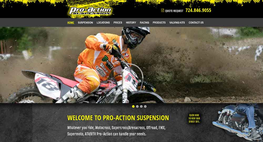 Pro-Action Suspension